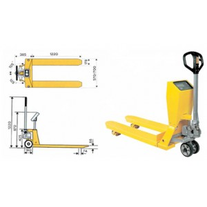 Pallet Weighing Trucks